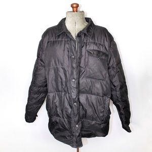 Polo Ralph Lauren Black Quilted Jacket XL